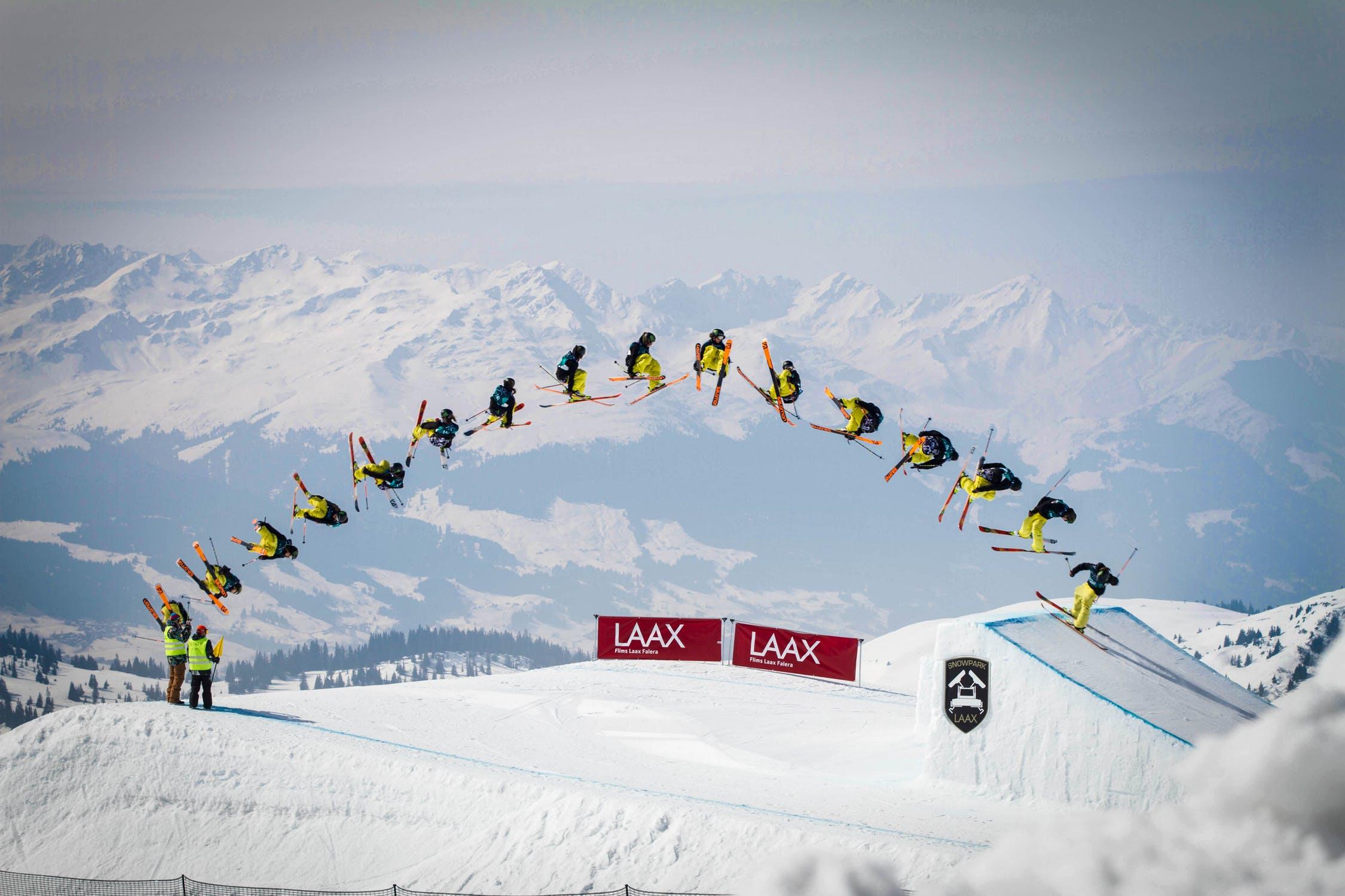 Skier stopmotion